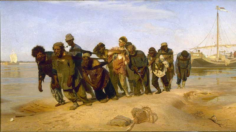 اثری از ایلیا یفیمویچ رپین، نقاش روس
