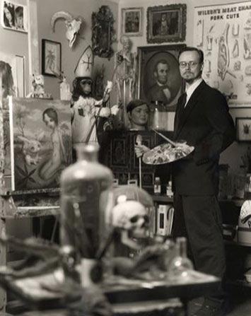 مارک رایدن، نقاش آمریکایی
