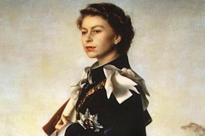 ملکه الیزابت دوم اثر اَنّی گونی