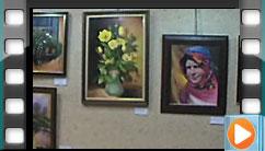 نمایشگاه نقاشی هنرجویان ١٣۹۰