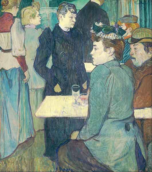 یک اثر از هانری دو تولوز لوترک