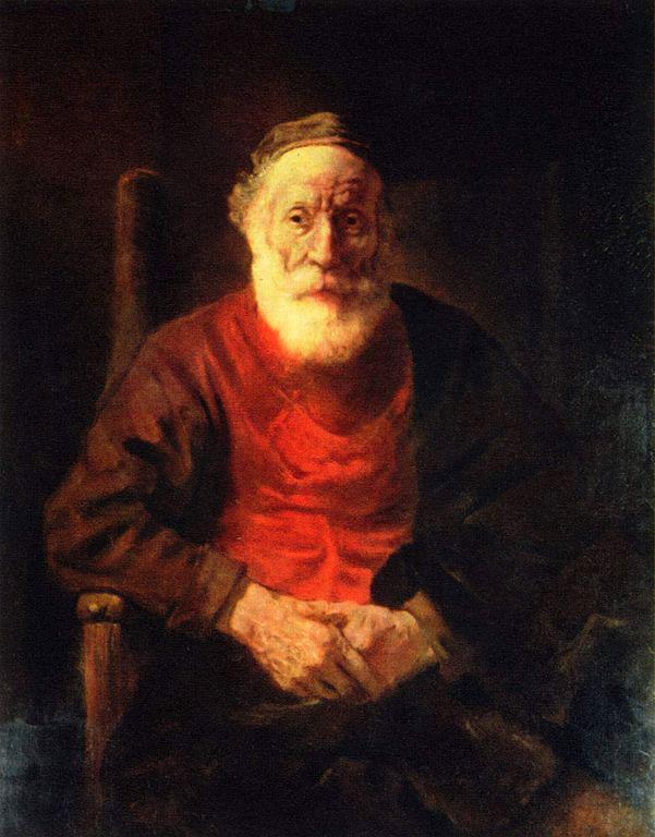 یک نقاشی پرتره از رامبراند