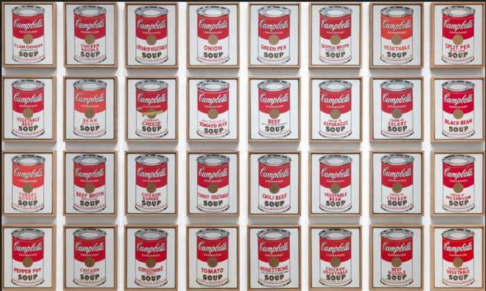 اندی وارهول - قوطی های سوپ