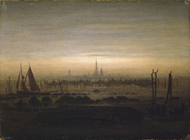 یک اثر از کاسپار داوید فریدریش نقاش رمانتیک