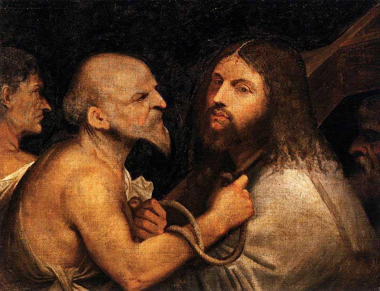 بردن مسیح بر روی صلیب (تیسین یا جورجونه)