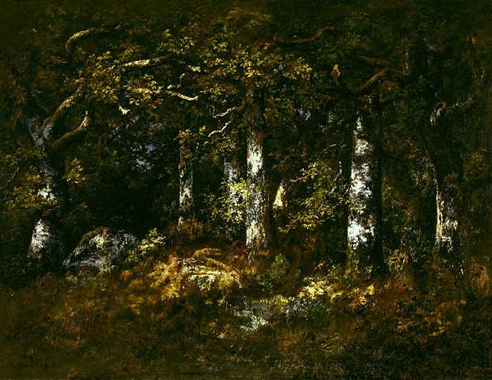 یک اثر از دیاز جنگل فونتنبلو