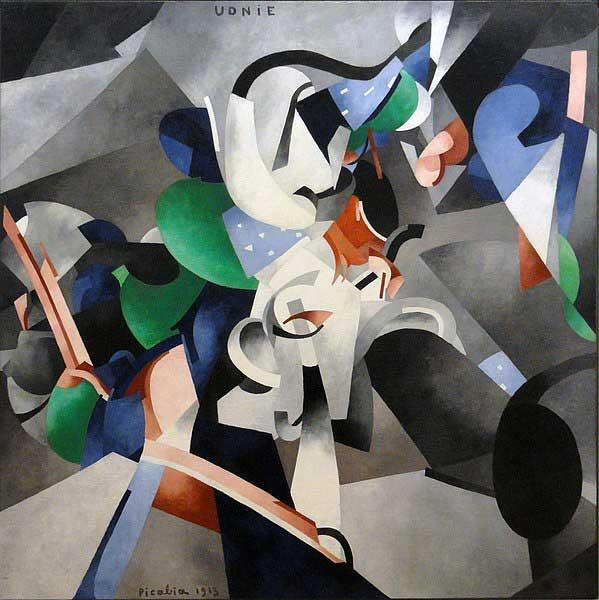 اثری از فرانسیس پیکابیا نقاش سبک کوبیسم