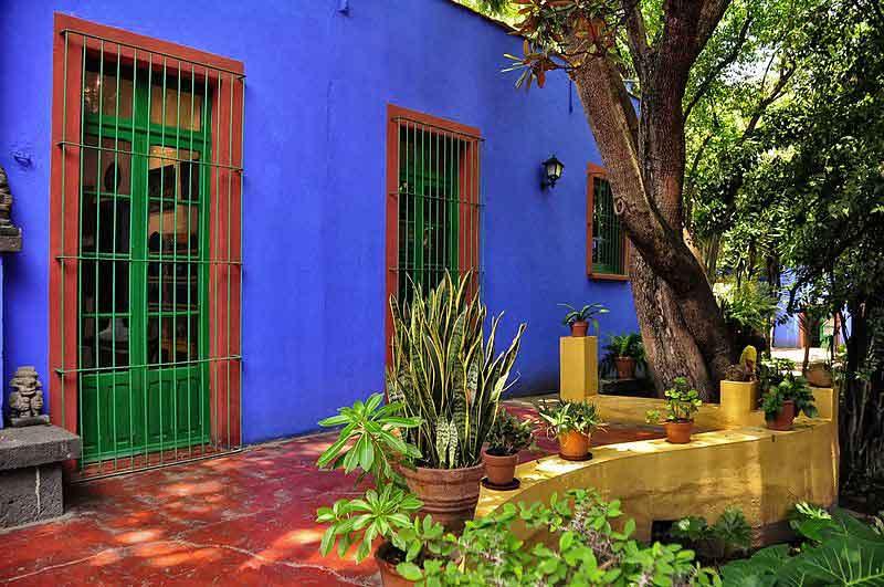 خانه فریدا کالو در کودکی