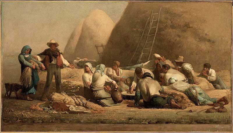 استراحت برداشت کنندگان