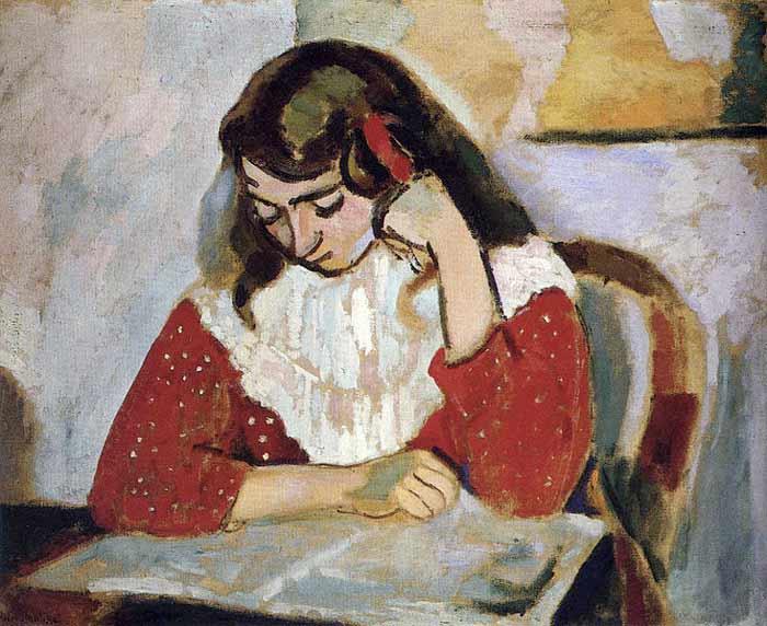 دختر کتاب خوان