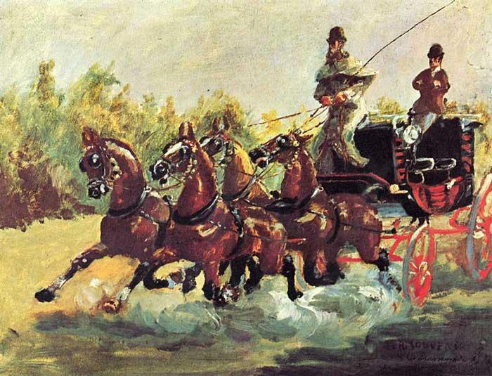 یک نقاشی اثر تولوز لوترک