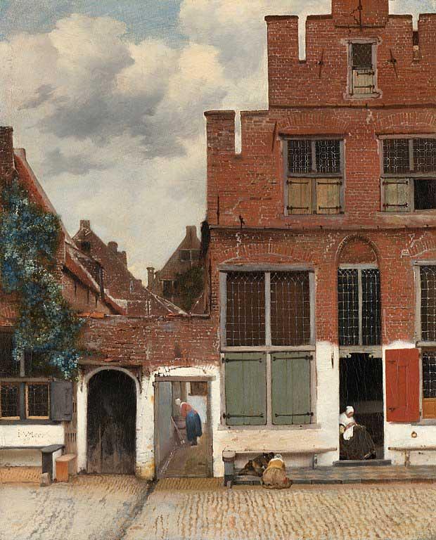 نقاشی خیابان کوچک، یوهانس ورمیر