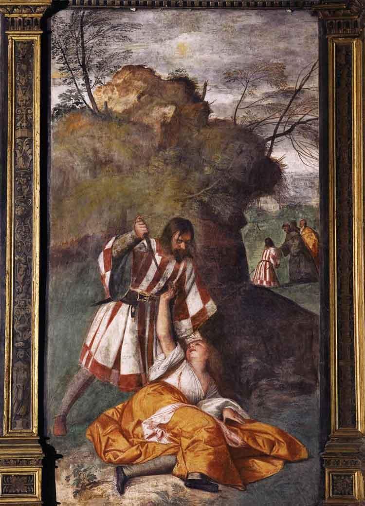 معجزه شوهر حسود یکی از آثار مجموعه معجزه های سنت آنتونیو