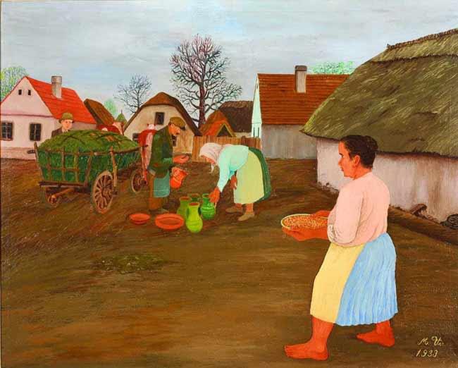یک اثر از نقاشان هلبین