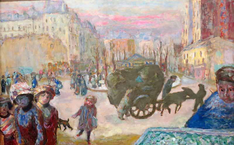 صبح در پاریس