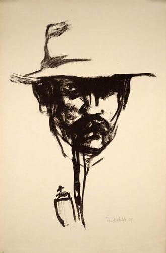 سلف پرتره هنرمند سال 1907