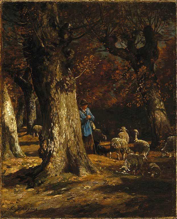 یک نقاشی از چارلز ژاک