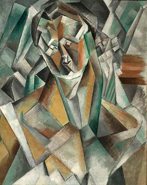 یکی از گرانقیمت ترین نقاشی های جهان اثر پیکاسو در سبک کوبیسم