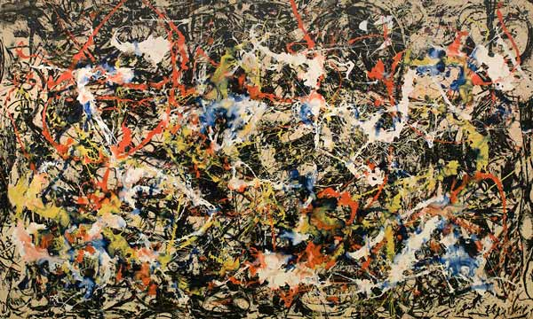 یک اثر از جکسون پولاک