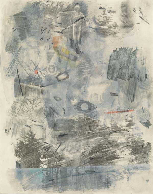 یک نقاشی مفهومی از رابرت راشنبرگ