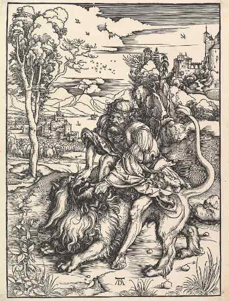 سامسون و شیر 1497