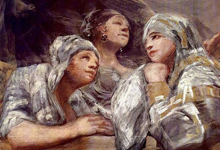 قسمتی از اثر کلیسای سن آنتونیو دلا فلوریدا