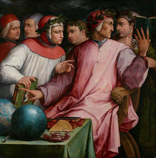 شش شاعر اهل توسکانا اثر جورجو وازاری