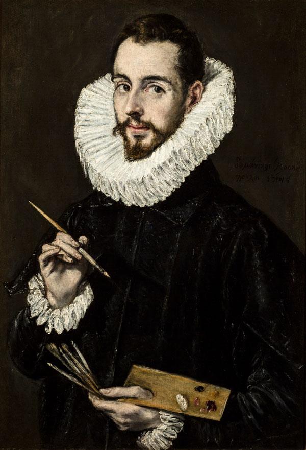 پرتره جورج مانوئل اثر ال گرکو