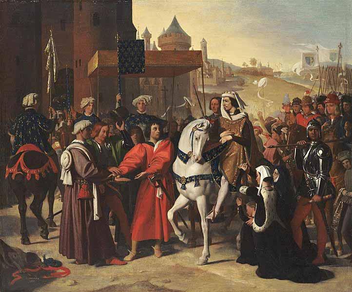 ورود دوفین به پاریس