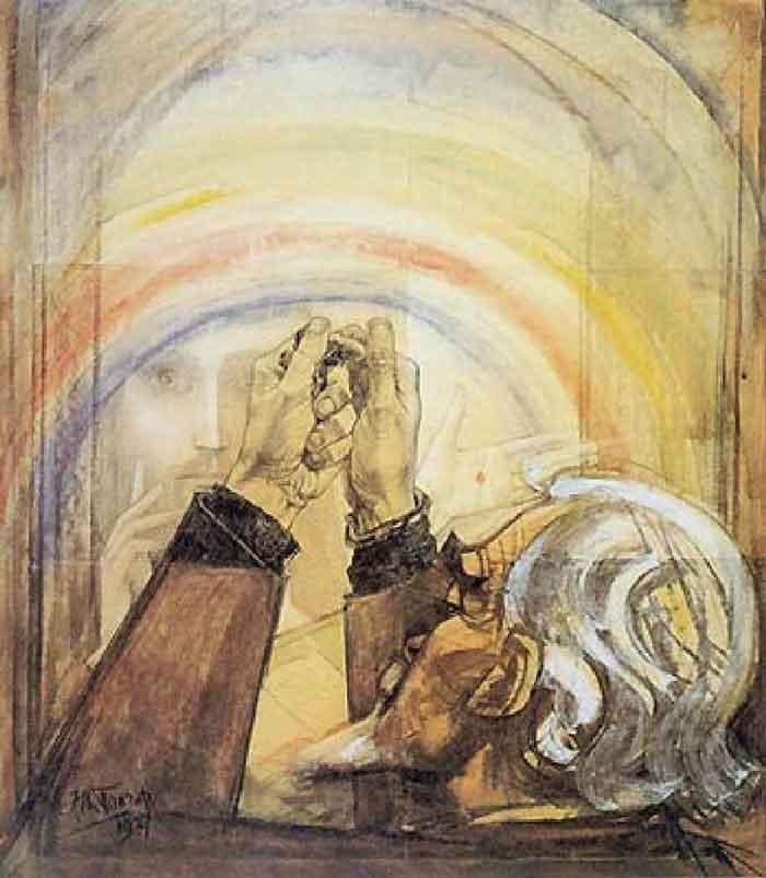 یک اثر از یوهانس تئودروس توروپ