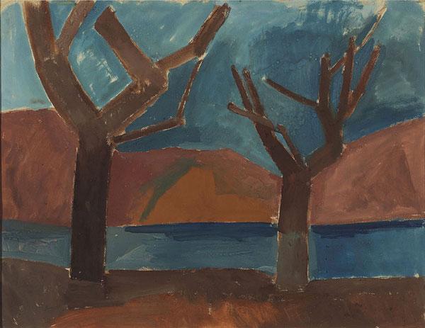 دو درخت اثر پیکاسو