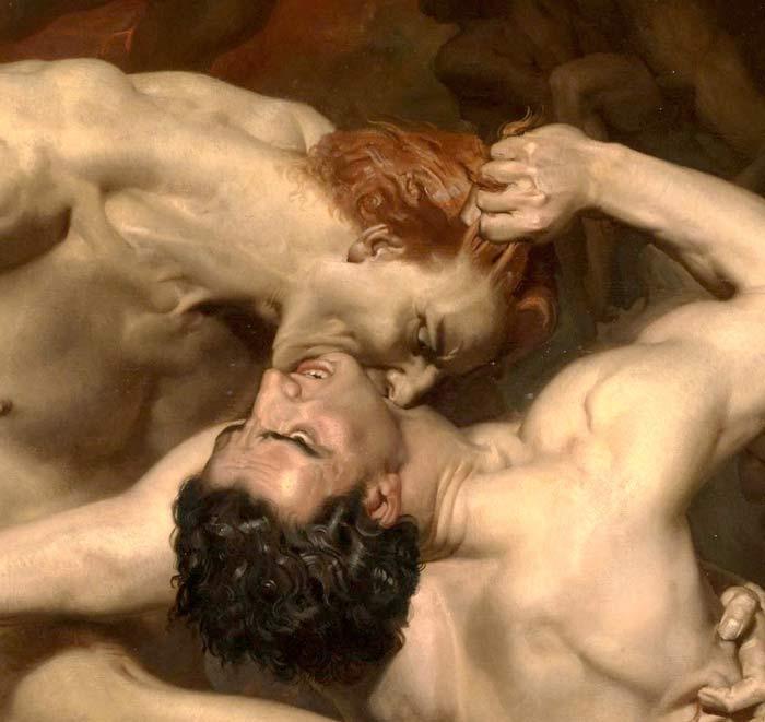 دانته و ویرجیل در جهنم