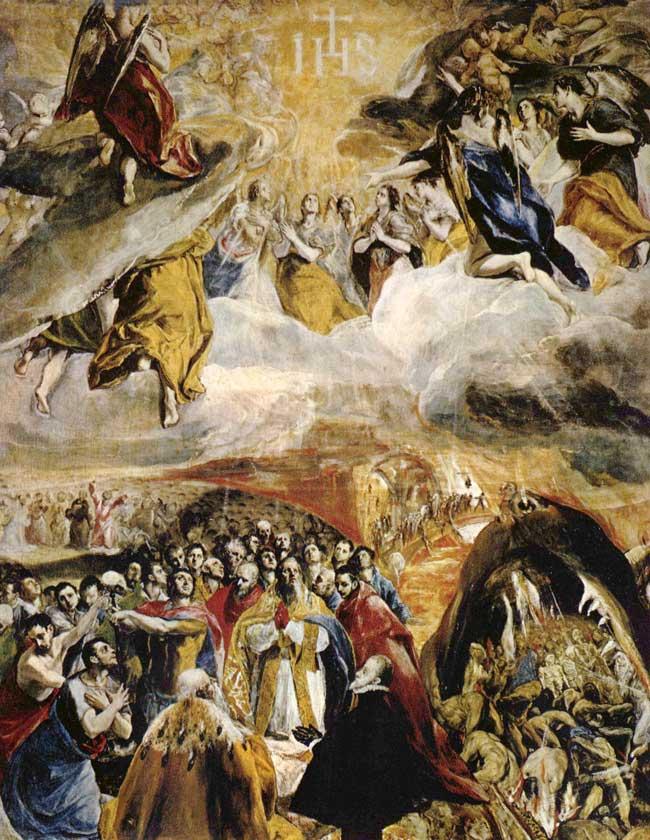 ستایش عیسی مسیح از گرکو