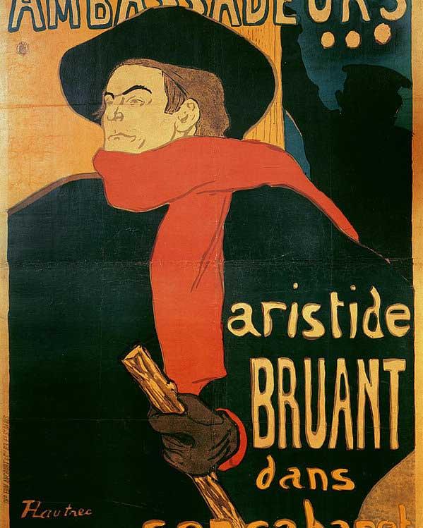 یک پوستر از لوترک