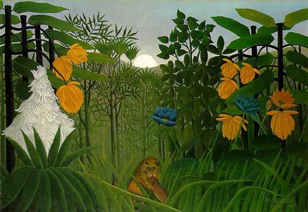 یک اثر هنری نائیف اثر هانری روسو