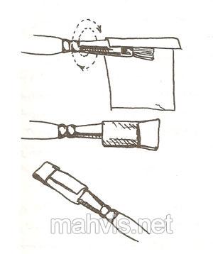 آموزش شستن قلم موی رنگ روغن