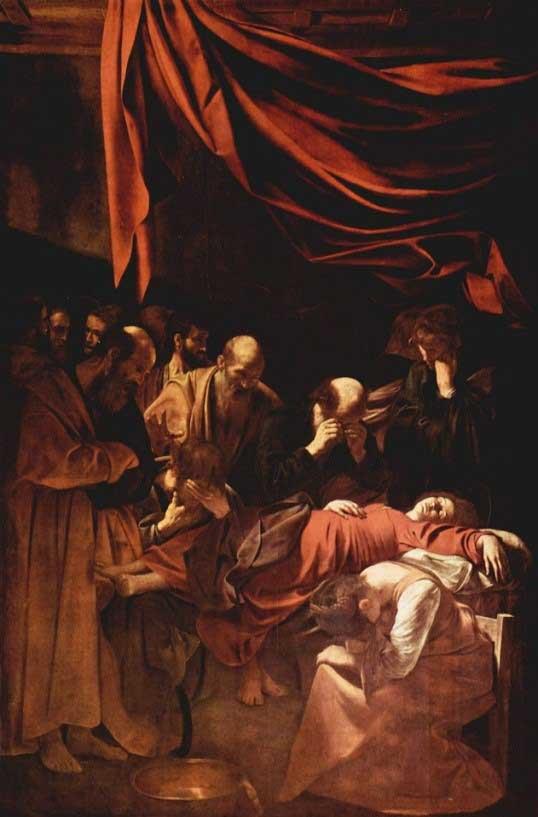 کاراواجو، مرگ باکره