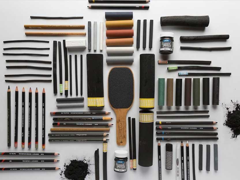 انواع مدادهای زغالی