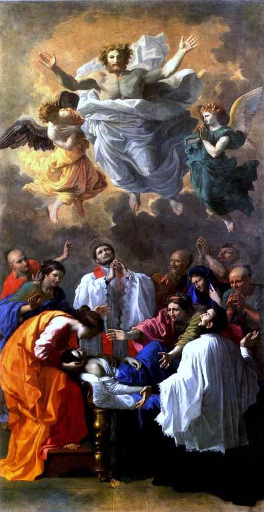 هنر کلاسیسیم، معجزه سنت فرانسیس اثر نیکولا پوسَن