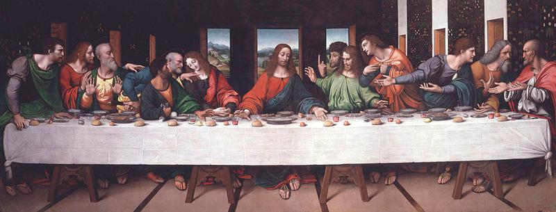 کپی شام آخر اثر جامپیترینو