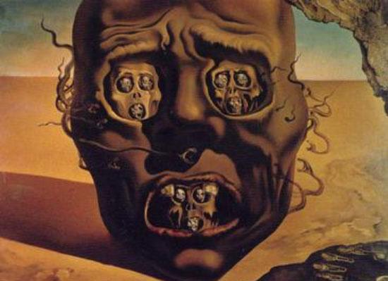 چهره جنگ، اثر سورئالیستی از سالوادور دالی