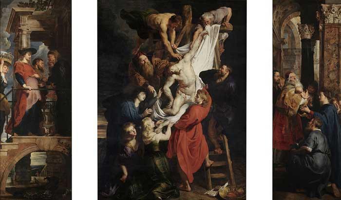 فرود از صلیب اثر روبنس