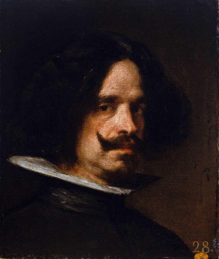 دیه گو ولاسکوئز نقاش اسپانیایی - سلف پرتره