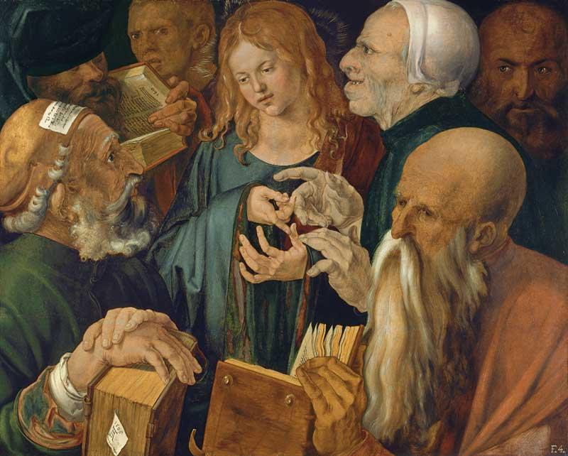 مسیح جوان در میان پزشکان