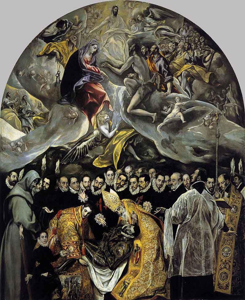 خاکسپاری کنت ارگاز اِل گِرکو