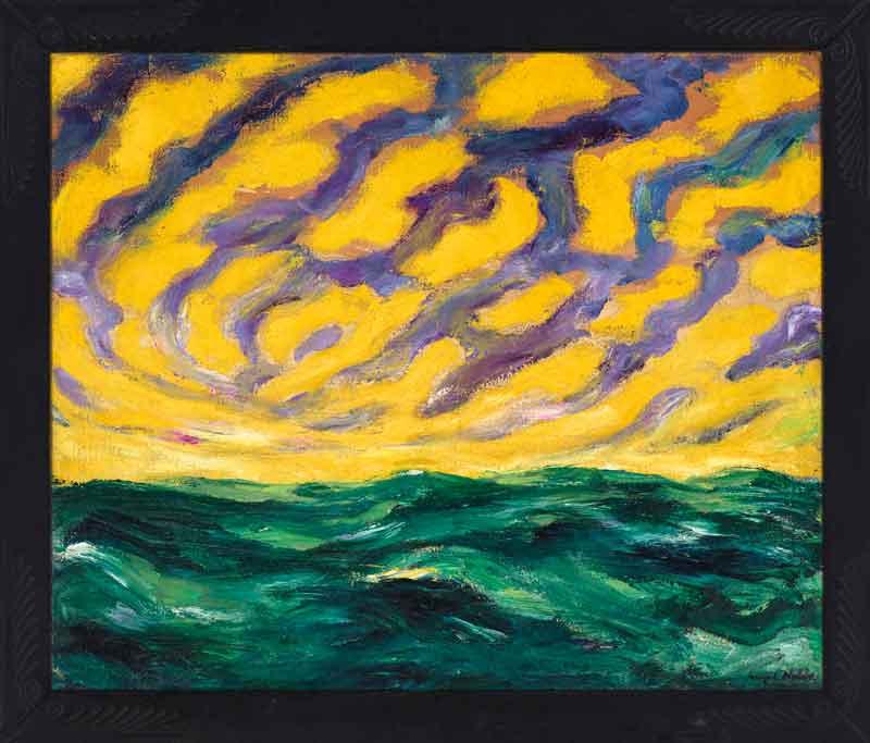 یکی از آثار نولده که در حراج کریستیز به قیمت 7,344,500 فروش رفت