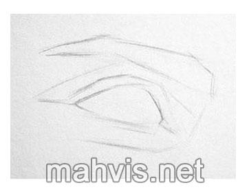 طرح اولیه چشم