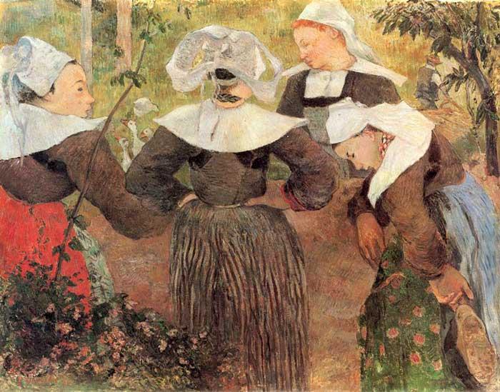چهار زن برتونی 1886 گوگن