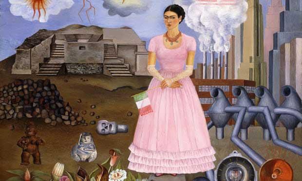 سلف پرتره در مرز مکزیک و ایالات متحده