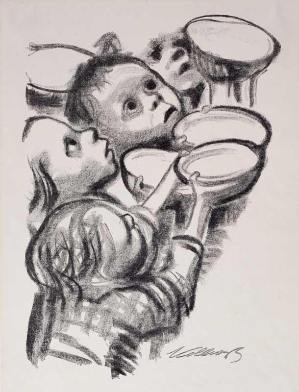 کودکان آلمانی گرسنه اند